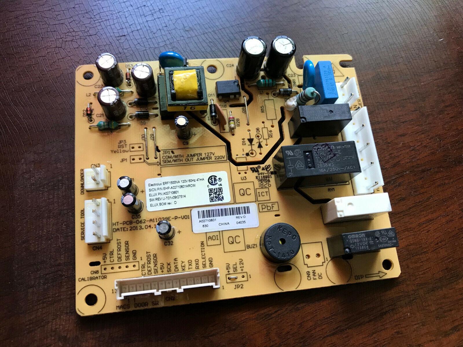 Frigidaire Electrolux Refrigerator Control Board A02710601 E