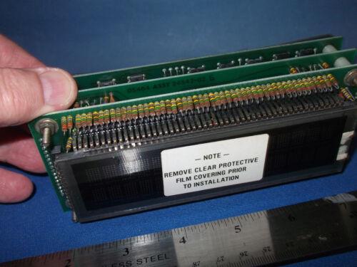 "25496-01 IEE-ARGUS IEE25496 ALPHANUMERIC FLUORESCENT DISPLAY 5"" x 1.25"" VIEWING"