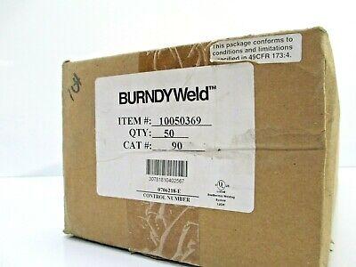 Burndyweld 90 Weld Material 1 Case 50 Cartridges Welding Construction