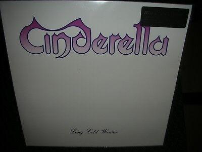 CINDERELLA **Long Cold Winter **BRAND NEW 180 GRAM RECORD LP VINYL