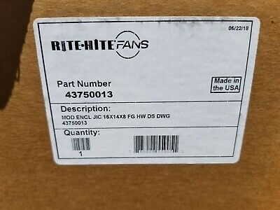Rite Hite Revolution 24 Warehouse Fan Lot Of 4 Fans Missing Motors New