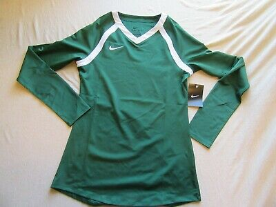 ec784d9aca63 Womens Nike Team Agility Volleyball Jersey Size S Green New