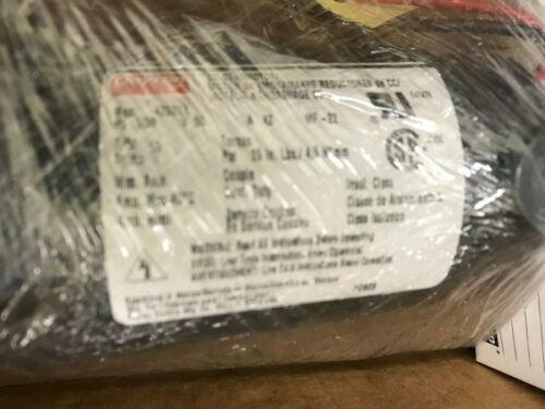 Dayton Permanent Magnetic DC Gearmotor  4Z838A
