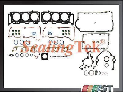 Fit 04-11 Ford 4.0L V6 SOHC VIN E,K Engine Full Gasket Set Kit w/ Oil Pan Gasket