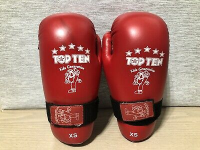 Top TEN Kids pointfighter Guanti Tag Mitt Sparring palmo aperto Taekwondo kickboxin