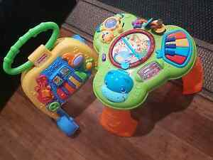 Fisher Price and Bright Starts baby walker and play table Bonogin Gold Coast South Preview
