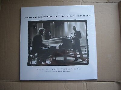 STYLE COUNCIL - CONFESSIONS OF A POP GROUP - WHITE VINYL LP - NEW SEALED - JAM