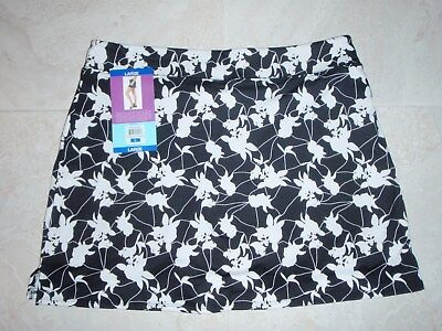 TRANQUILITY COLORADO CLOTHING SKORT GOLF YOGA SHADOW FLOWERS, LARGE, NEW DESIGN