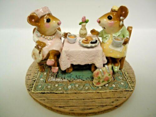 Wee Forest Folk  M-285  Tea With Tillie  Pastel