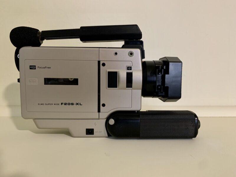Vintage 80s Elmo Super Wide F20S - XL Super 8 Camera