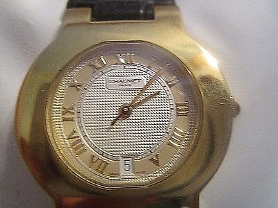Chaumet- Paris ,Ladies 18k Gold Automatic(RARE)watch with Date  Swiss Made