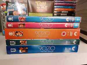 90210 S1-S5 Complete DVD series. Excellent condition Craigmore Playford Area Preview