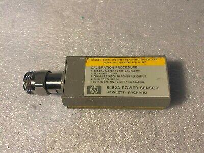 Hp 8482a Power Sensor 1mhz-4ghz .3uw To 100mw