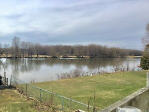 Waterfront apartment for rent 4 1/2 in Chateauguay