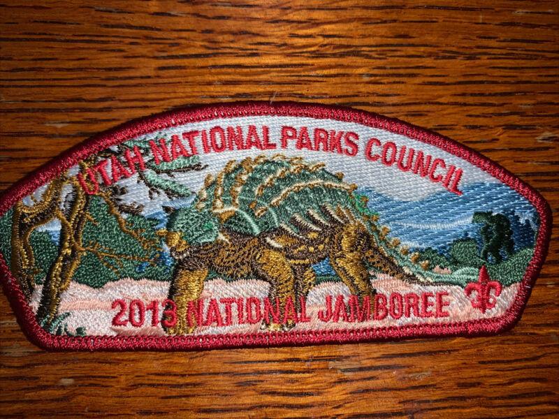 Used 2013 JSP Utah National Parks Council Red Border Dinosaur