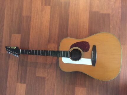 Vintage Ibanez Acoustic Guitar  Made In Japan Stanhope Gardens Blacktown Area Preview