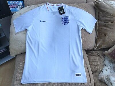 Nike England Home Football Shirt Season 2018/19 Size XL Brand New With Tags Mint