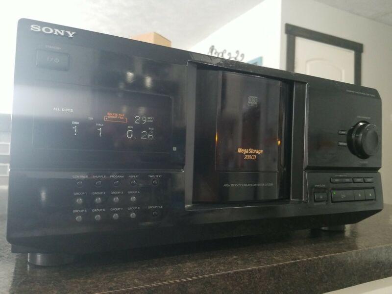 Sony CDP-CX220 200cd Changer