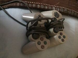 2x Dual Shock PS2 Controllers