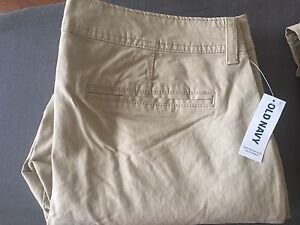 Two pairs of women's pants for sale (unworn and from Old Navy)
