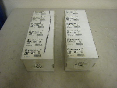 New Notifier Fsp-751 Addressable Photoelectric Smoke 12 Avail. Free Shipping