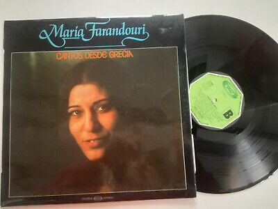 Maria Farandouri Ridges Desde Greece Spain Lp Vinyl (Greece Ridge)