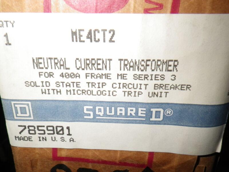 Square D ME4CT2 Neutral Current Transformer cat 785901
