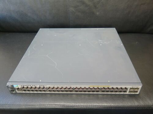 J9574a Hp E3800-48g-poe+-4sfp+ Layer 3 Switch J9577a Dual Power Supplies Ps