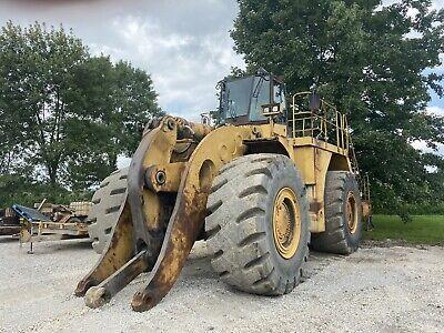 Caterpillar 990f Wheel Loader. Runs Good. Good Rubber Oil Analysis Available.