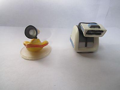 Disney Pixar Rare Wall-E Friends PVC Figure Lot Vacumn Vaq Light