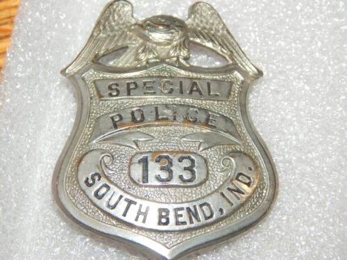ANTIQUE SOUTH BEND INDIANA SPECIAL POLICE  IN IND  #133