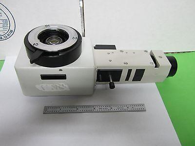 Microscope Leitz Germany Lamp Vertical Illuminator 0.8x Optics As Is Binp3-04