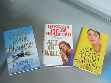 BARBARA TAYLOR BRAFORD BOOKS (3)