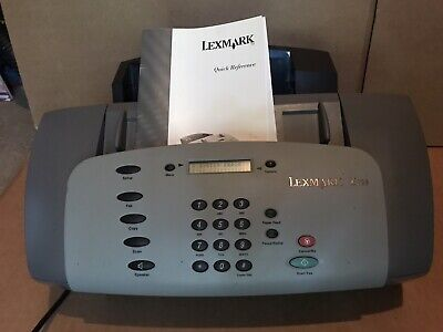 Lexmark X125 All In One Office Center Inkjet Printer Fax For Parts