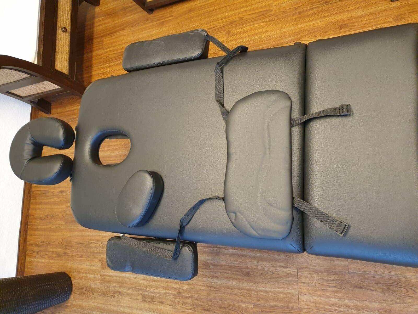 Fast neu Klappbarer Massagetisch, 3-Zonen, Massagetherapie mit Tragetasche