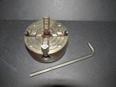 Fine Atlas Craftsman Lathe 4 Jaw 3 Chuck 12-20tpi 21570