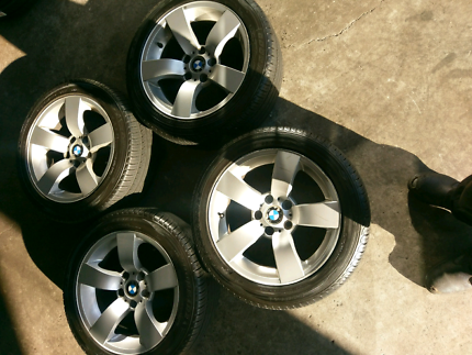 BMW wheels and tyres for sale $300 o.n.o