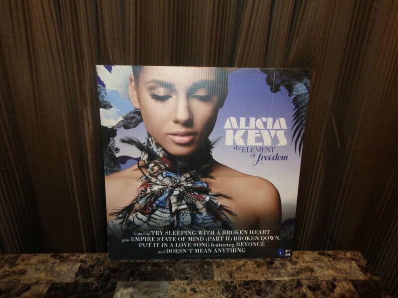 Alicia Keys Rare Promo Record Store Display Picture Board The Element Of Freedom
