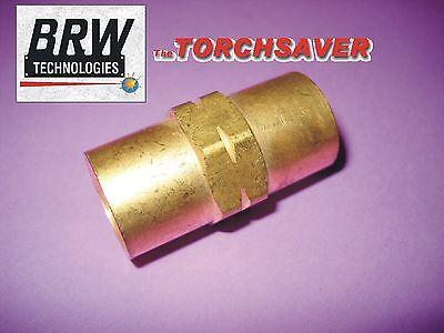 Tig Welder Water Cooler Hose Coupling Brass Lh Threadwelding Fittingc-127