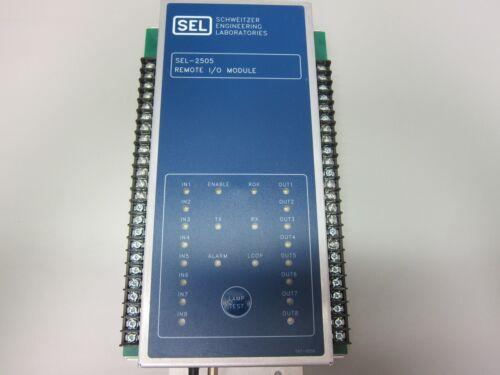 Schweitzer (SEL) Remote I/O Module - SEL-2505 - 2505424XX