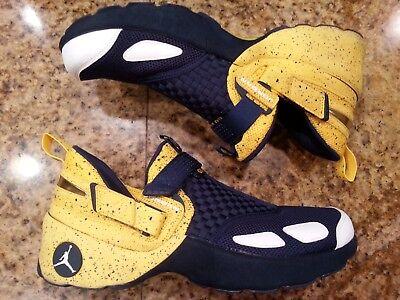 Nike Air Jordan Trunner Michigan Wolverines Trainer Sample Promo PE Size 11.5.