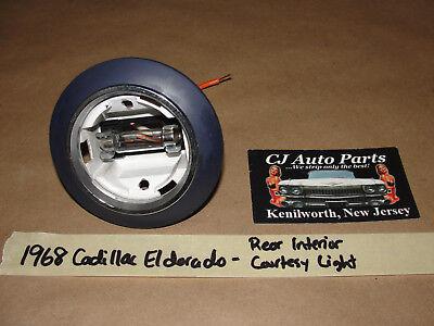 OEM 1968 68 Cadillac Eldorado REAR INTERIOR SAIL PANEL COURTESY LIGHT **TESTED**