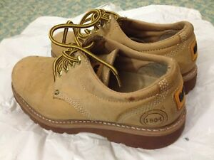Caterpillar CAT Leather Shoes Size 7