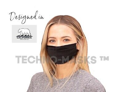 Face Mask Breathable Reusable Swiss Antimicrobial Sanitized® technology treated