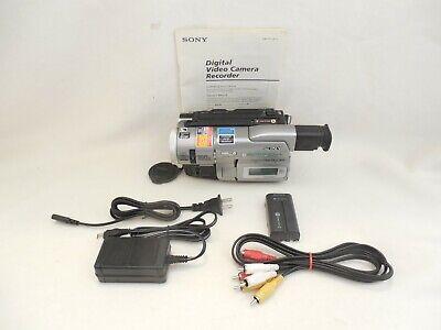 Sony DCR-TRV103 8MM Hi8 Digital 8 Camcorder Bundle with 90-Day Warranty