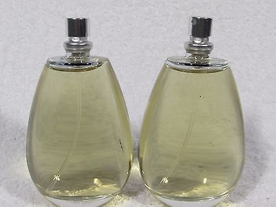 (LOT OF 2 SHI ALFRED SUNG 3.4 OZ EDP SPRAY NO.BOX.NO.CAP WOMAN HARD FIND VINTAGE)