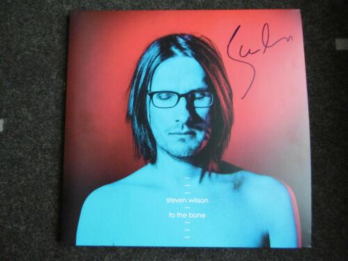 "Steven Wilson Autogramm signed LP-Cover ""To the Bone"" Vinyl"