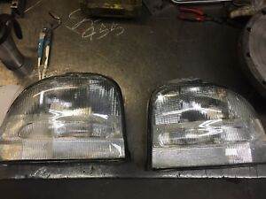 1995-1998 dodge neon clear tail lights