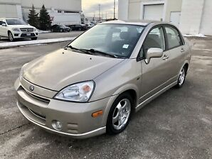 2004 Suzuki Aerio **ONLY 86,000 KM**NO ACCIDENTS**CERTIFIED**