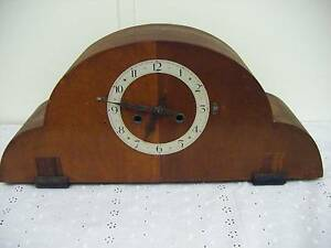 TIMBER MANTLE CLOCK Upper Ferntree Gully Knox Area Preview